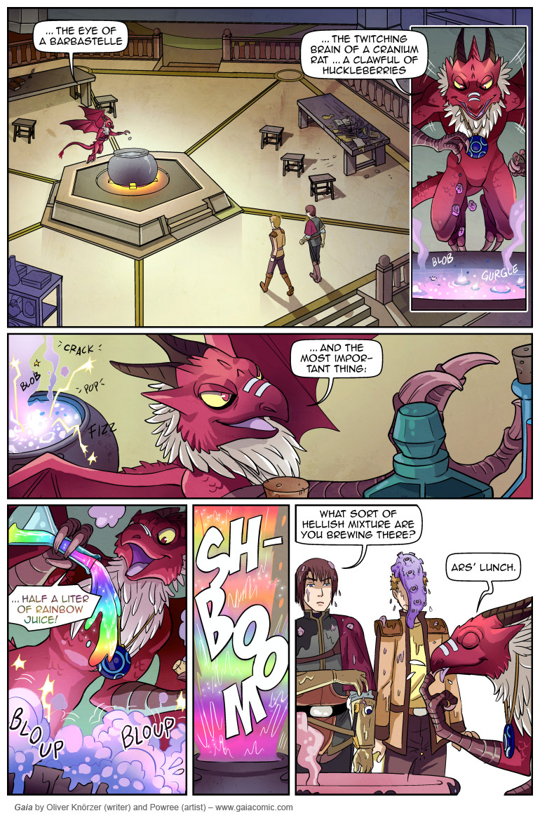 Gaia » The Red Hall 023   The fantasy webcomic